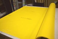 """2NDS FABRIC YELLOW BRAD-FLEX  WATERPROOF OUTDOOR FABRIC SOLD BY THE YARD 59""""W"""