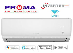 NEW PROMA 5.2KW INVERTER + WIFI AIR CONDITIONER REVERSE CYCLE SPLIT SYSTEM