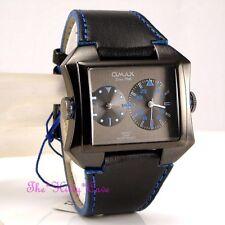 OMAX Unisex Armbanduhren aus Kunstleder