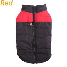 Dog jacket padded waterproof Pet Clothes Warm windbreaker Vest Coat Winter