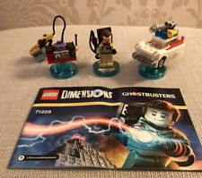 Lego Dimensions Ghostbusters Level Pack Peter Venkman Ecto-1