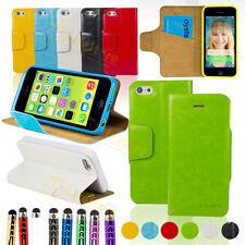 Étuis, housses et coques etuis portefeuilles blanc iPhone 5c pour téléphone mobile et assistant personnel (PDA)