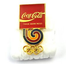 COCA-COLA COKE EE.UU. Solapa Pin PIN BADGE Broche - Olympia ANILLOS LOGO
