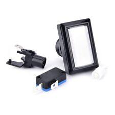 50*33mm rechteck drucktaste LED-Licht Für MAME Arcade Spiel Ersetzen Wei? GE