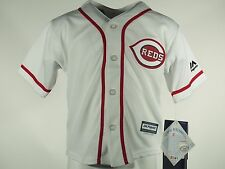 Cincinnati Reds Baseball MLB Majestic Cool Base Infant Toddler & Kids Jersey New