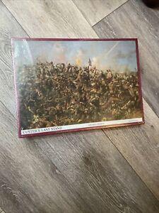 New Custer's Last Stand 500 pc 15 x 21 Inch Jigsaw Puzzle Sealed Box War Paxson