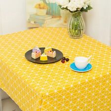 Arrow Grid  Picnic Party Linen Cotton Dinner Wedding Party Restaurant Tablecloth