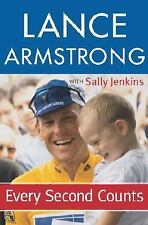 Every Second Counts - Lance Armstrong (Hardcover) Sally Jenkins - Like New