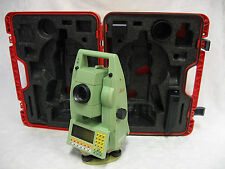 "LEICA TCA1105 5"" ROBOTIC TOTAL STATION COMPLETE FOR SURVEYING ONE MONTH WARRANTY"