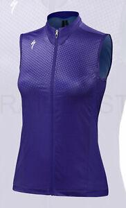 Specialized Women's RBX Comp Sleeveless Cycling Jersey Geo Crest Indigo - Medium