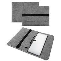 Apple Macbook Pro 13,3 Zoll Tasche Hülle Grau Cover Sleeve Filz Case Notebook