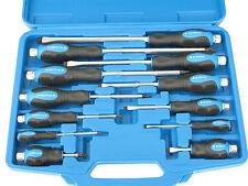 Bgstechnic 7895 12 Pzs. destornillador juego de con al aire libre 6-kant