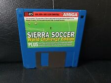 Sierra Soccer: World Challenge Edition, Commodore Amiga Game, Trusted Ebay Shop