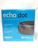 Amazon Echo Dot 3rd Generation Smart Assistant Charcoal Fabric Speaker Alexa