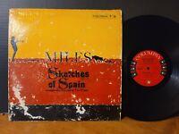 MILES DAVIS - SKETCHES OF SPAIN 1960 Mono Jazz Classic Gil Evans Viny LP!