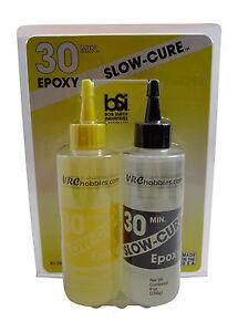 BSI Bob Smith Industries 9oz Slow-Cure 30 Minute Epoxy #206