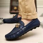 New Fashion Men's Flats Driving Moccasin Loafer Casual Classic Slip On Shoes