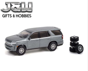 Greenlight Chevy Tahoe 2021 With Spare Tires 97110 E 1/64
