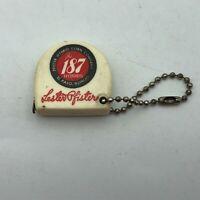 Vintage Lester Pfister 187 Hybrids Corn El Paso IL FOB Tape Measure Keychain H7
