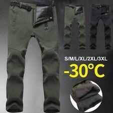 2020 Herren Winter Warme Outdoor-Camping Wandern Hosen Soft Shell Hose Gr:S-3XL*