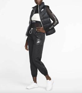 Nike NSW Women Black Reversible Windrunner Down Vest Size S NWT 100$+TAX