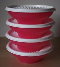Tupperware Servalier Cereal Salad  Bowl Container 4-2 Cup  New