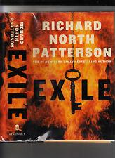 RICHARD NORTH PATTERSON-EXILE-SIGNED LIKE NEW 1ST 2007 HB/J TERRORIST THRILLER