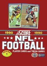1990 Score Football Cards Series 1 - 36 Pack Wax Box