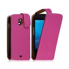 Housse coque étui pour Samsung Galaxy Nexus couleur rose fuschia + film protecte