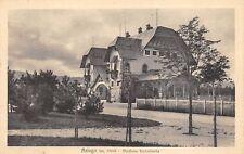 1927) ASIAGO (VICENZA) STAZIONE FERROVIARIA. VIAGGIATA IL 11/9/33.