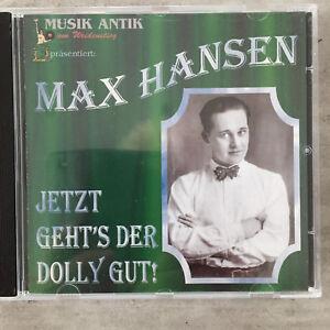 MAX HANSEN: Jetzt geht's der Dolly gut (CD Musant 003 / neu)