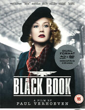 BLACK BOOK (2006) - Limited Edition Blu Ray & Dvd + Booklet..Paul Verhoeven