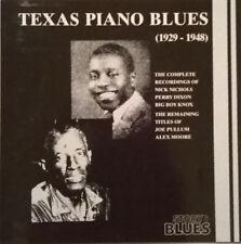 Various Artists - Texas Piano Blues, CD
