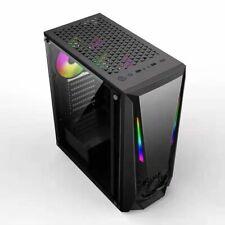 +HMZ+Tower Gaming Pc Gehäuse USB 3.0 ATX ,M-ATX,Mini-ITX Midi RGB RGB Streife