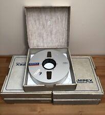 "AMPEX 456 GRAND MASTER Studio Reel To Reel 2"" 2 Inch Mastering Tape"