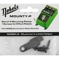 Nobels Mounty P Metal Mounting Tabs Black w/ Screws