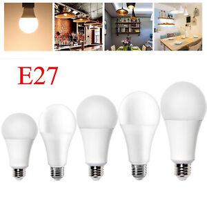 LED Sensor Bulb E27 Auto Dusk To Dawn Light Sensor Night Lamp Indoor Outdoor AU