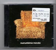 (JG956) Monolithic Minds, 10 tracks various artists - 1997 CD
