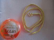 Goldkette aus Thailand ein Baht schwer gestempelt mit 965 gold 15,2 gr. 23 Karat