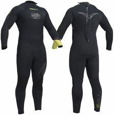 1fd9349562 2017 Gul Response FX 5 4mm BS Back Zip Wetsuit Black   Lime Re1255 Large