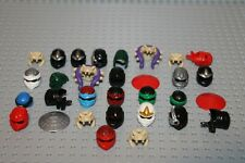Lego Minifig Figur 30x Helm Hut hat Kopfbedeckung Ninjago (380) 1