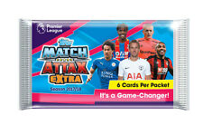 MATCH ATTAX EXTRA 2017 2018 EPL English Premier League Trading Cards 15 x Packs