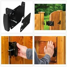 Gate Latch Fence Gates Handle Latches 2-Way Reversible Push Pull Open Activation