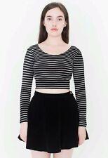 American Apparel corduroy circle skirt XS