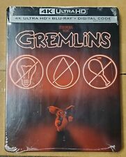 Gremlins Steelbook (4K UHD/Blu-Ray/Digital, 1984) Factory Sealed