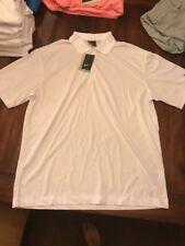 NWT Mens Nike Golf Dri-FIT Micro Pique Polo Sport Shirt 363807 100 Size Medium