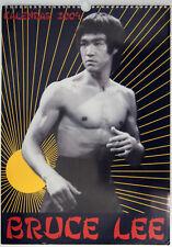 """Bruce Lee Calandar 2004, 11 1/4""""X16 1/2"""" 12 Photos 3 color, 9 B&W plus Cover"""