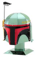 Fascinations Metal Earth Star Wars Boba Fett Helmet 3D Model Kit MMS315