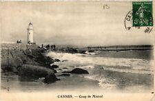 CPA  Cannes - Coup de Mistral  (488461)
