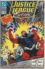 Justice League Europe #17 : Vintage DC Comic Book : August 1990